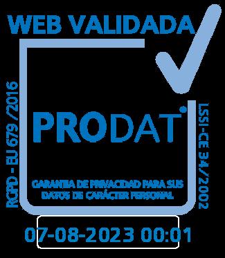 PRODAT | Web validada