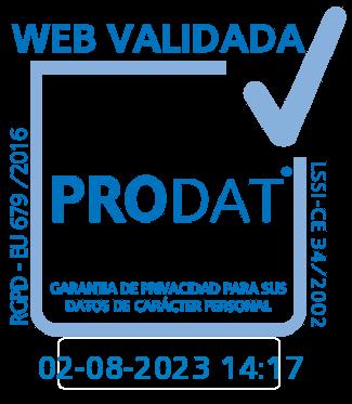 Web Validated Prodat